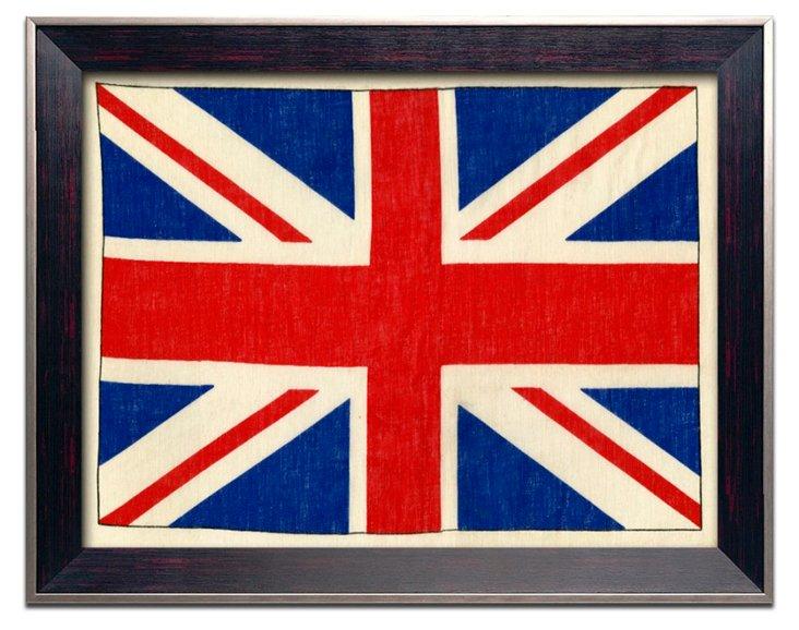 Pop English Flag Print I