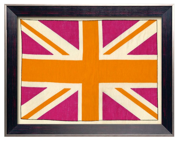 Pop English Flag Print III