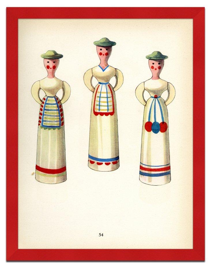 Vintage Swedish Toys Print II