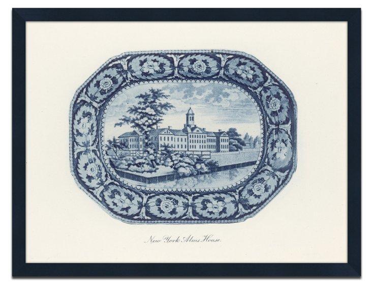 Blue American Plates  I