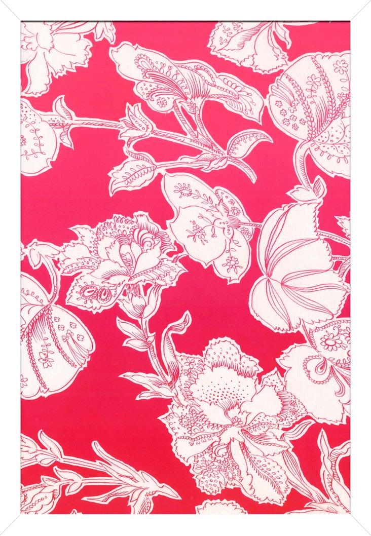 Pink Textiles II