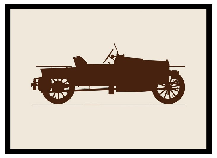 Vintage Car Framed Print II