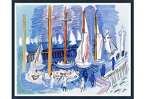 Sailboats, Côte D'Azur