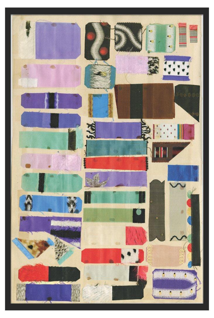 Vintage Ribbons/Fabrics II