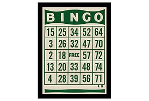 Retro Bingo Cards I