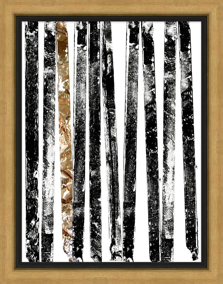 Stripes Black and White II