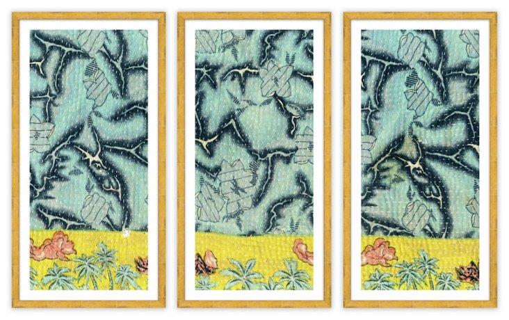 Jennifer's Quilt Triptych