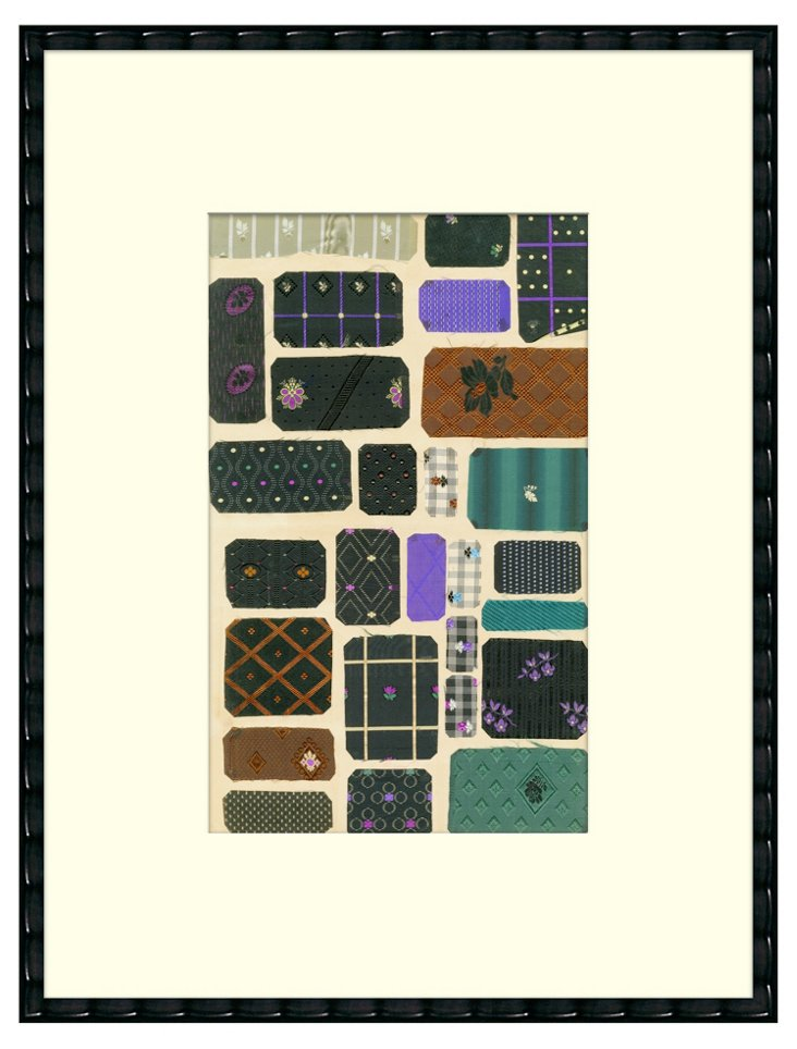 French Cloth Samples I,  1930s