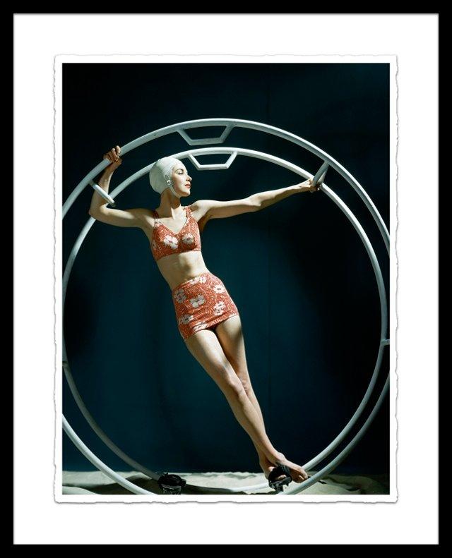 Glamour Magazine, Swim Ring 1942