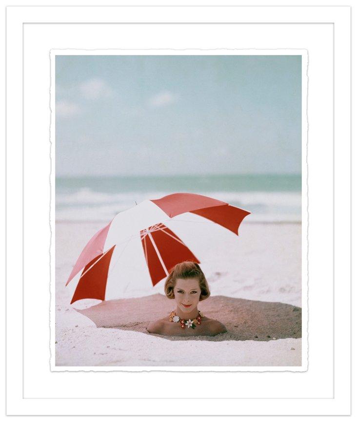 Glamour Magazine, Umbrella, May 1, 1959