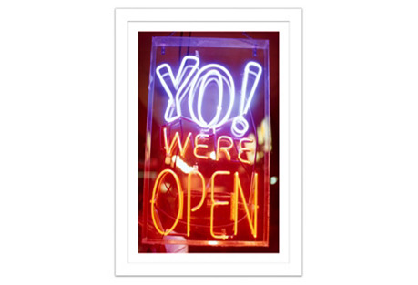 Yo! We're Open!