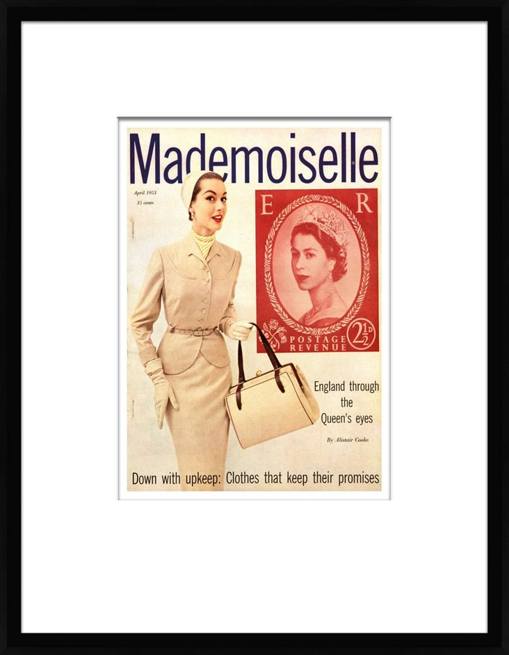 Mademoiselle Cover, April 01, 1953