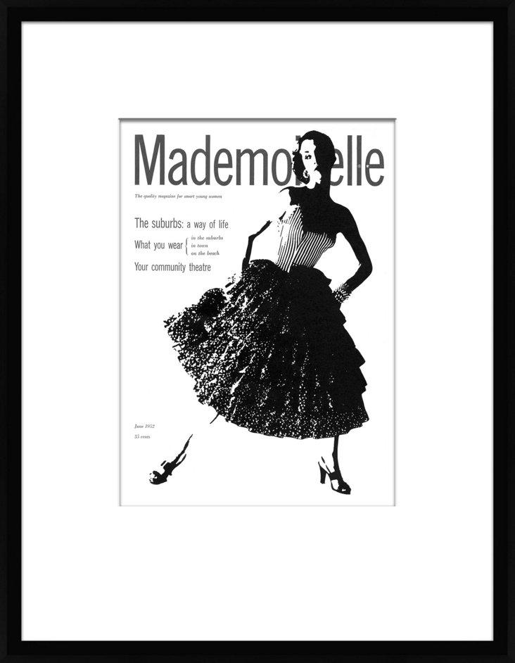 Mademoiselle Cover, June 1952