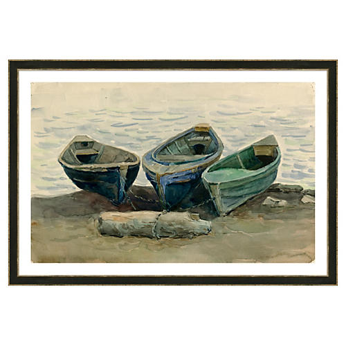 Three Boats