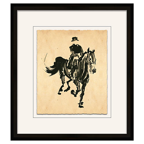Filbert Gernhardt, Horse Sketch