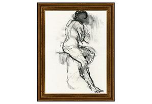 Black and White Figure II