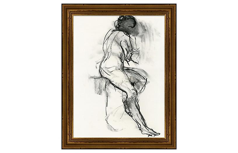 Black & White Figure II