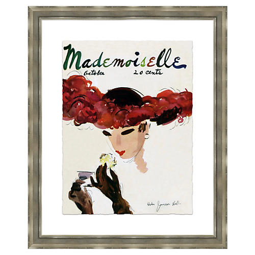 Mademoiselle Cover, Powdering Nose