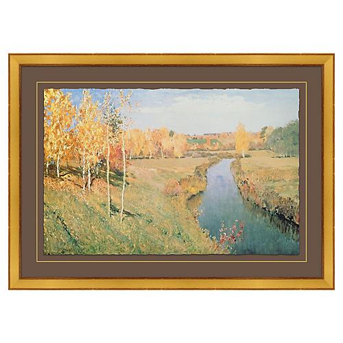 Isaak Ilyich Levitan, Golden Autumn