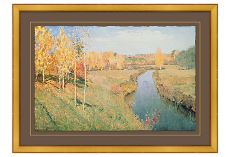 Isaak Ilyich Levitan, Golden Autumn