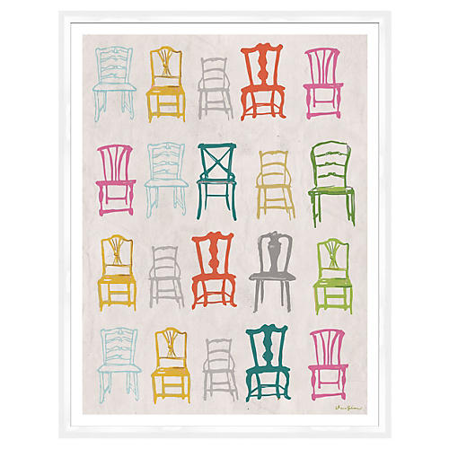 Dana Gibson, Chairs