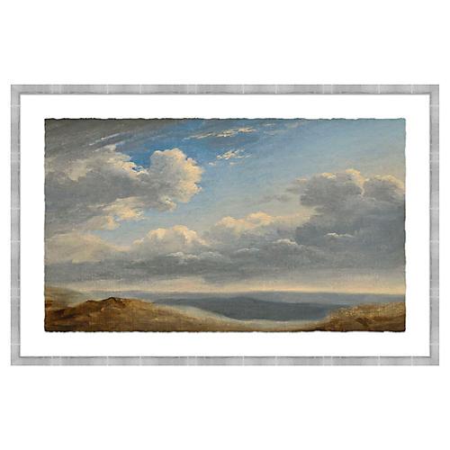 Landscape in Silver Frame, I