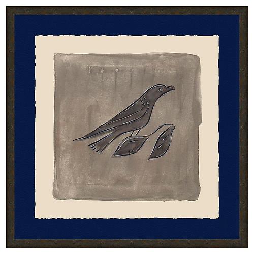 Bird Wash in Grayscale