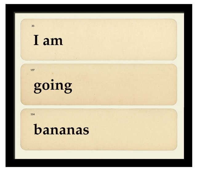 I Am Going Bananas