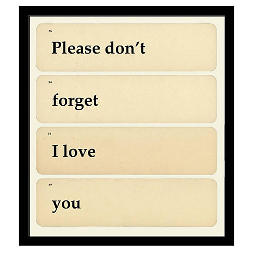 Please Don't Forget