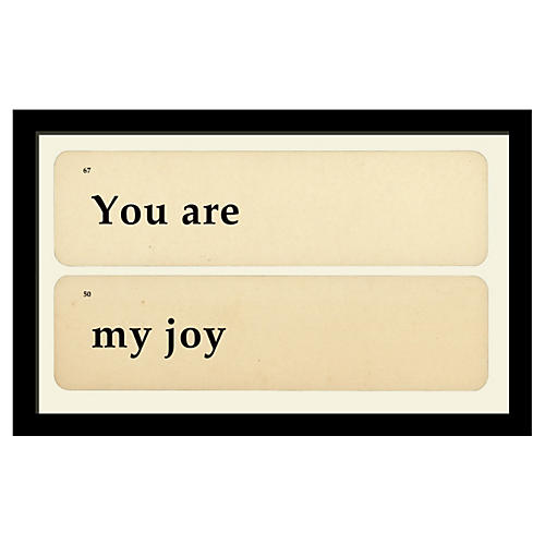 You Are My Joy
