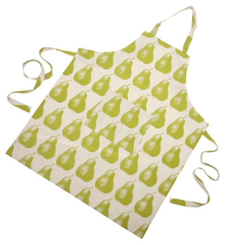 Pear Apron, Green
