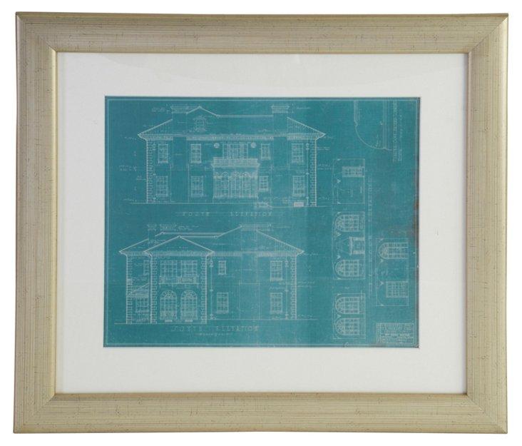 Preservation Houston Showhouse Print I