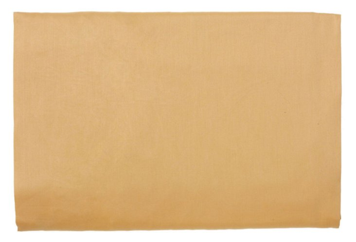 King Tinta Strié Fitted Sheet, Gold