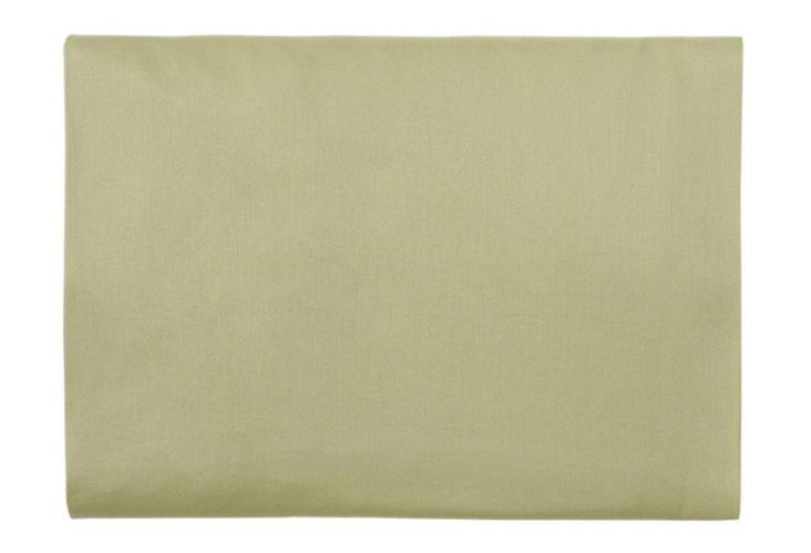 Primavera Fitted Sheet, Celery