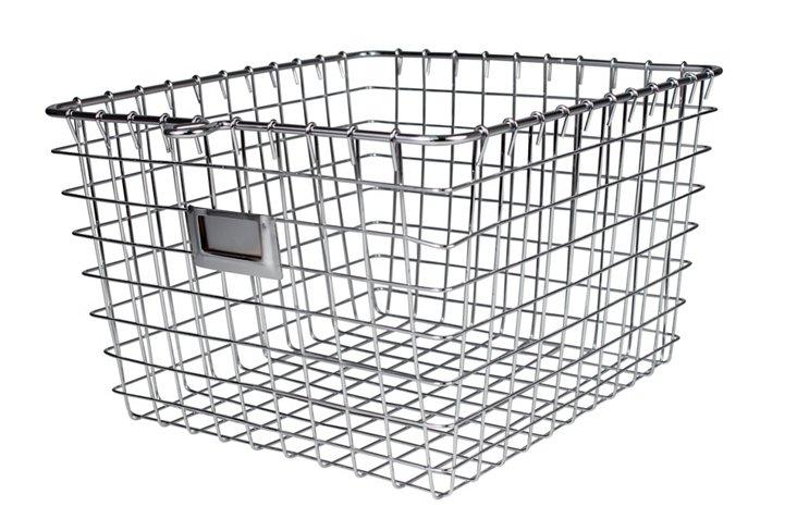Storage Basket, Chrome