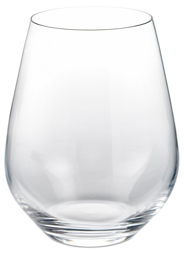 S/4 Authentis Stemless Red Wine Glasses