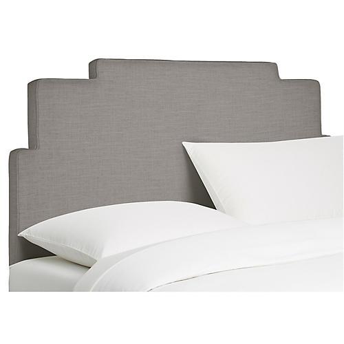 Paxton Headboard, Gray Linen