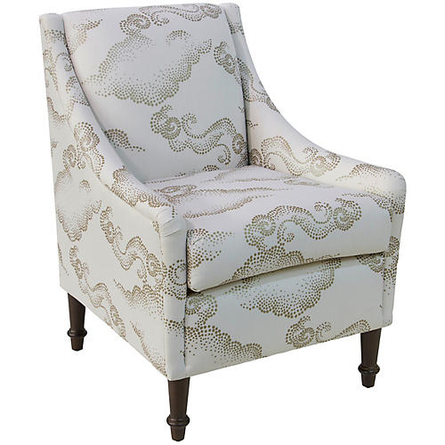 Holmes Accent Chair, Clouds
