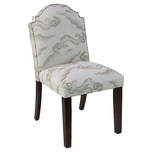 Elloree Side Chair, Clouds