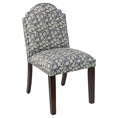 Elloree Side Chair, Slate Vine
