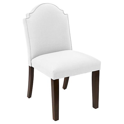 Elloree Side Chair, White