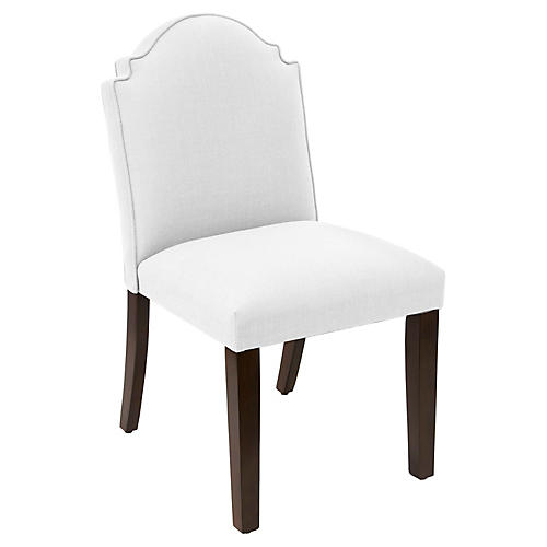 Elloree Side Chair, White