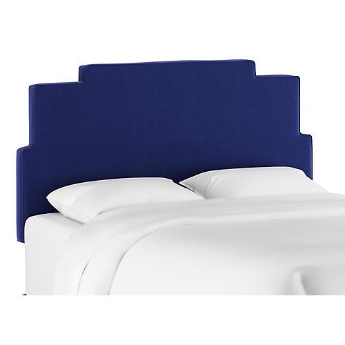 Paxton Headboard, Cobalt Velvet