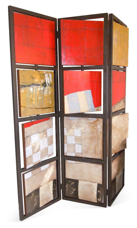 3-Panel Kinetic Screen