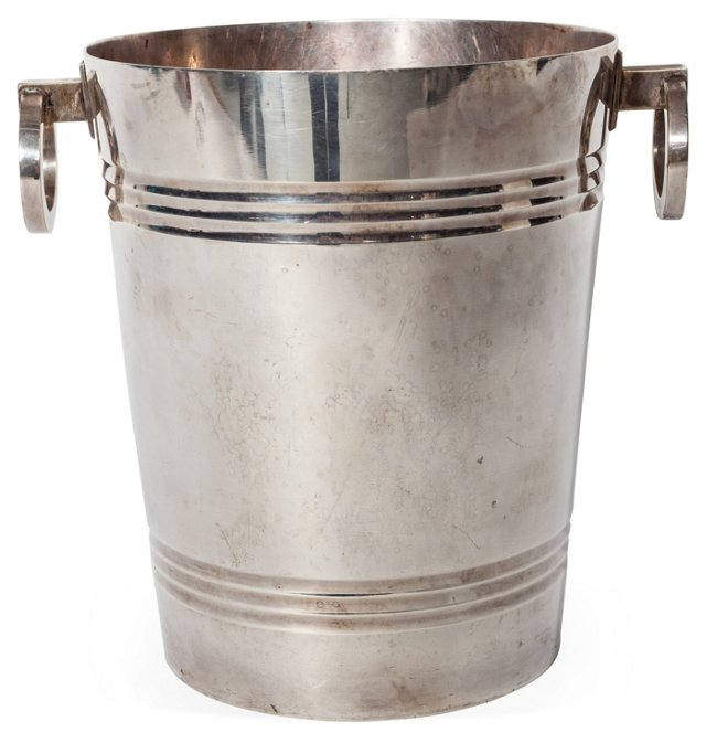 1920s Silverplate Ice Bucket