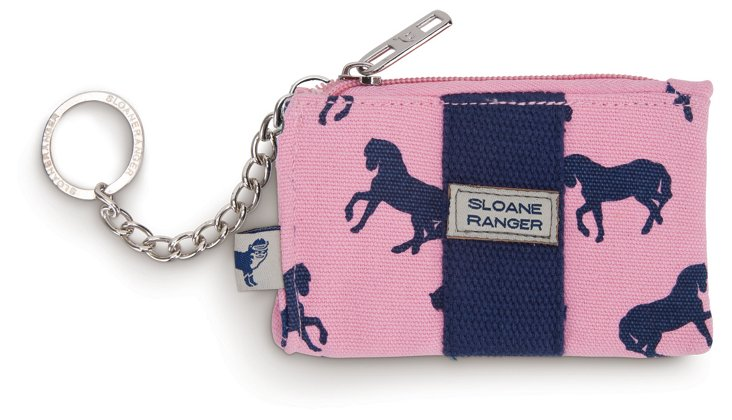 Canvas Coin Purse, Horses