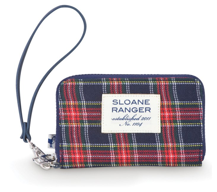 Traditional Smartphone Wallet, Plaid