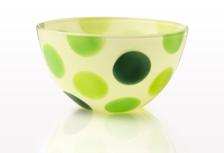 S/4 Medium Bowls, Lime Shake
