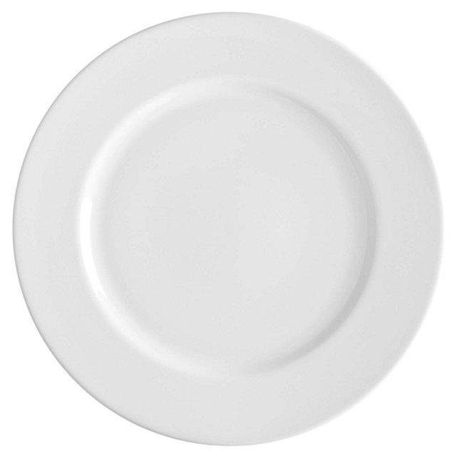 S/6 Porcelain Royal Dinner Plates