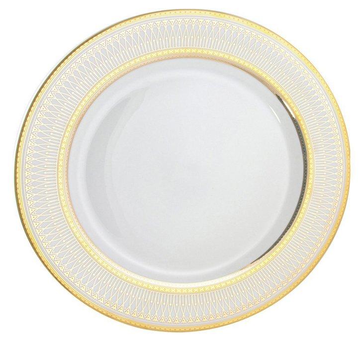S/6 Porcelain Iriana Bread Plates